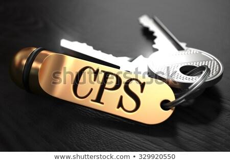 ключами слово Label стоить Сток-фото © tashatuvango