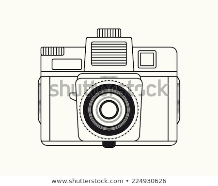 vintage camara stock photo © fotoedu