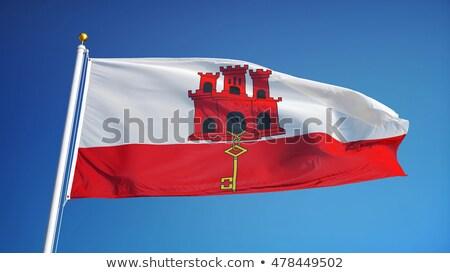 Великобритания Гибралтар флагами головоломки изолированный белый Сток-фото © Istanbul2009