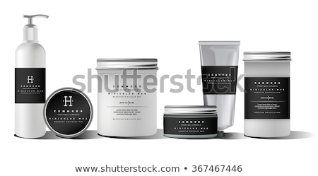 Fogkrém cső kozmetikai csomag felfelé hely Stock fotó © pozitivo