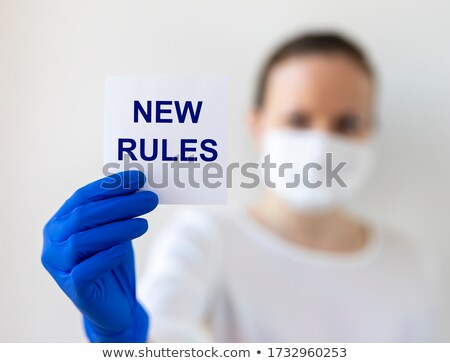 Changing The Rules Stock photo © Lightsource