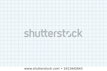 Graph grid paper vector illustration Stock photo © IMaster