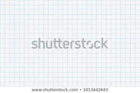 Graph grid paper vector illustration Stock photo © IMaster