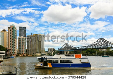 Ferry Service, Brisbane River Stock photo © kraskoff