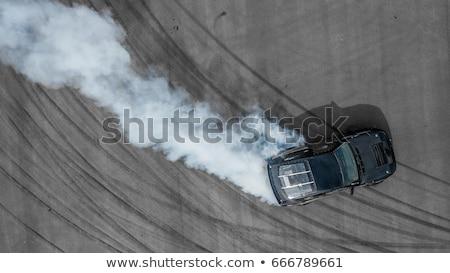Voiture de course arrêter rendu 3d fusil course roue Photo stock © kjpargeter