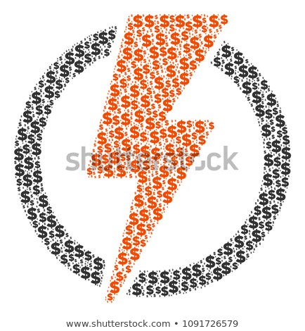 spark lightning dollar sign Stock photo © your_lucky_photo