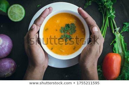 азиатских · пряный · суп · известный · продовольствие - Сток-фото © joker