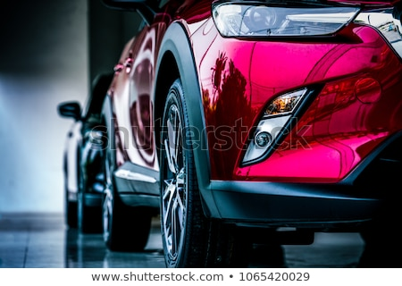 A pink motor vehicle Stock photo © bluering
