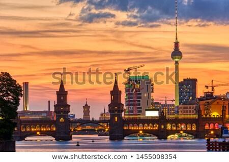 The beautiful Oberbaumbruecke Stock photo © elxeneize