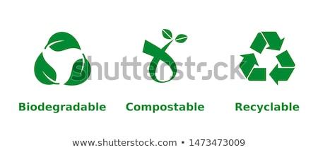Compost Symbol Stock photo © Lightsource