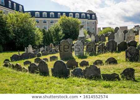 old gravestones stock photo © njnightsky