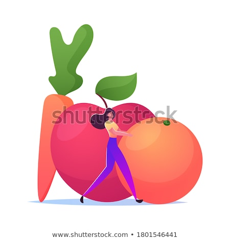 Carrot vector food Stock photo © Hermione