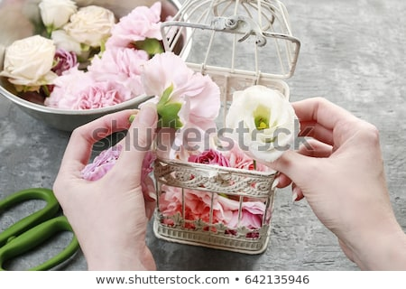 украшение свадьба Бар цветы цветок Сток-фото © jirivondrous