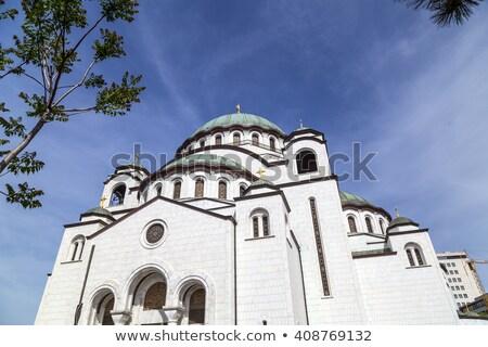 Orthodox church in Belgrade Stock photo © simply