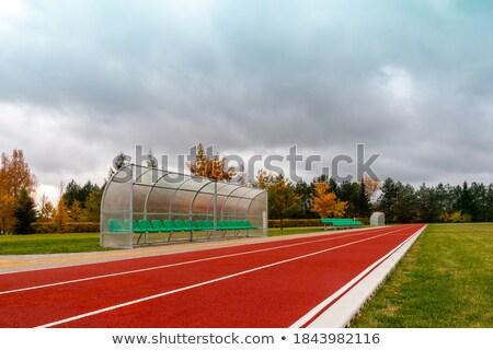 klaar · fitness · jonge · man · lopen · lichaam · venster - stockfoto © orla