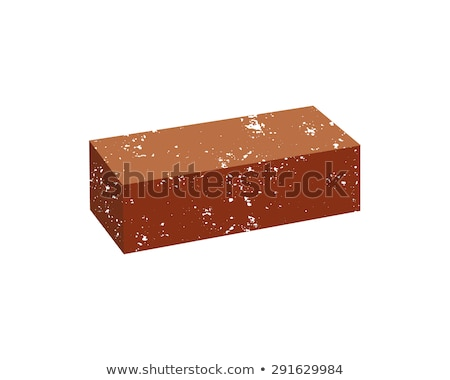 Just Brick icon. You can use it as logo template - add text, label, badge or your own creative desig Stock photo © JeksonGraphics