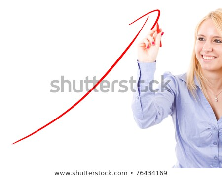 marketing · grafiek · Rood · fiche · woord - stockfoto © stevanovicigor