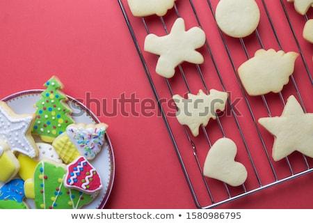 пластина пряничный частей Sweet никто Сток-фото © Digifoodstock