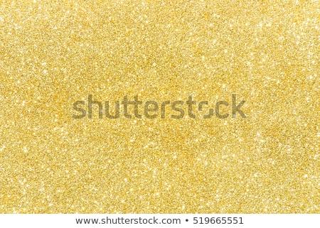 Stockfoto: Goud · schitteren · ingesteld · vector · witte · hand