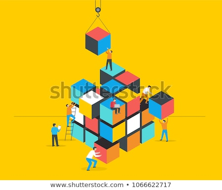 Problem solving puzzle concept Stock photo © adrian_n