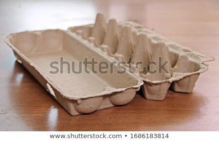 empty egg tray Stock photo © Digifoodstock