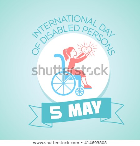 5 may International Day of Disabled Persons Stock photo © Olena