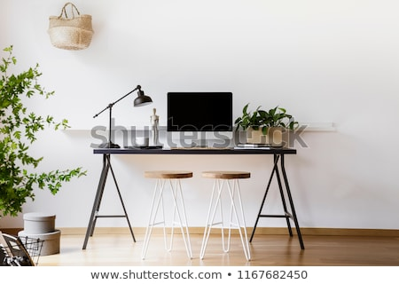 Vintage two desk lamp Stock photo © wavebreak_media