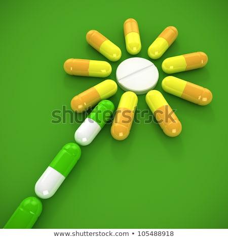 homeopatía · médicos · rojo · borroso · texto · estetoscopio - foto stock © tashatuvango