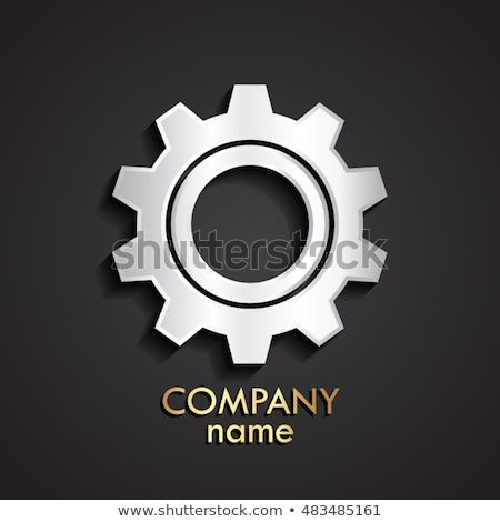 industry technology shiny metal cog gears 3d stock photo © tashatuvango