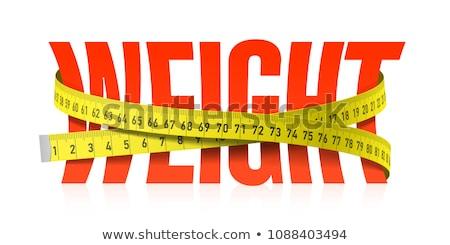 вектора рулетка набор изолированный белый бизнеса Сток-фото © freesoulproduction