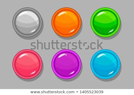 kleurrijk · ovaal · Windows · opties · geïsoleerd · ingesteld - stockfoto © studioworkstock