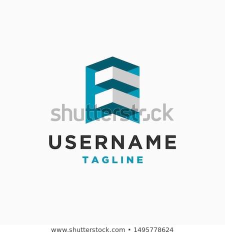 Casa logotipo assinar modelo edifício Foto stock © taufik_al_amin