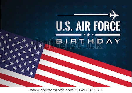 air force abstract background stock photo © milsiart