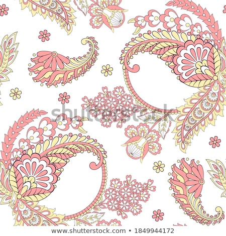 Vector damask seamless pattern Stock photo © sanyal