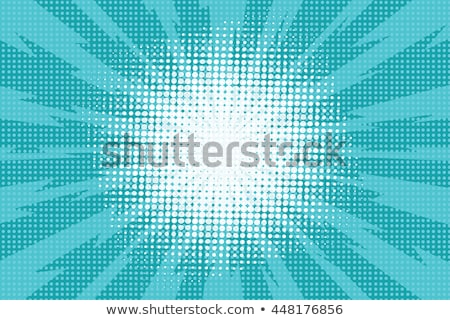 pop art blue star background stock photo © studiostoks