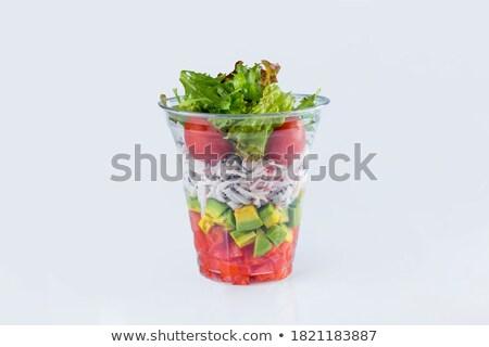 misto · salada · preparado · alimentação · saudável - foto stock © francesco83