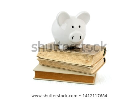 graduação · topo · livros · parede - foto stock © neirfy