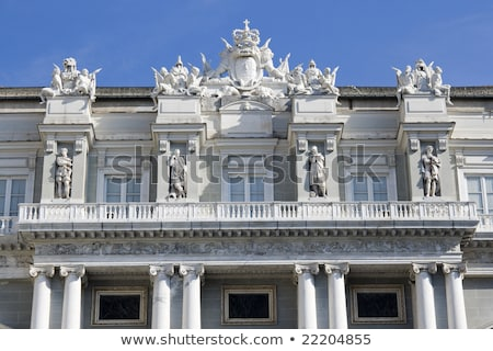 Doge Palace in Genoa Stock photo © boggy