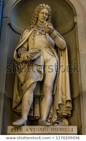 Photo stock: Botanist Pier Antonio Micheli Monument In Florence Italy