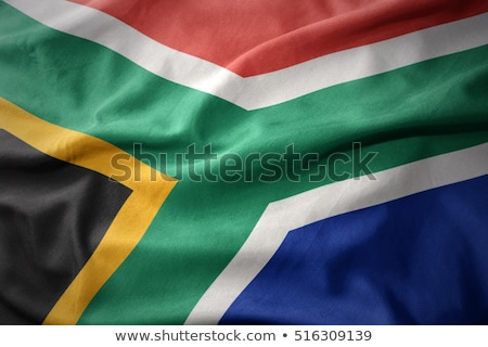 флаг · ЮАР · иллюстрация · сложенный · Мир · путешествия - Сток-фото © grafvision