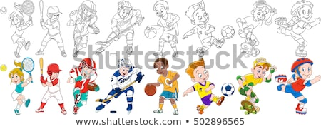 Extreme Sports Activity of People Hobby Vector Set Stock photo © robuart