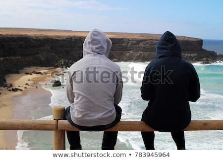 canárias · norte · natureza · reserva · céu · pôr · do · sol - foto stock © nito
