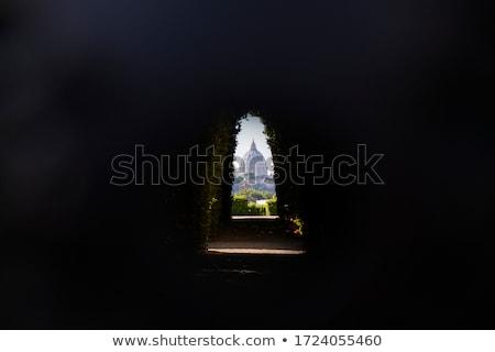 Kupola Róma történelmi építészet közelkép Olaszország város Stock fotó © Givaga