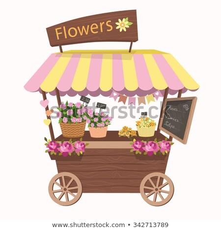 vettore · romantica · fiore · decorazione · regali · isolato - foto d'archivio © robuart