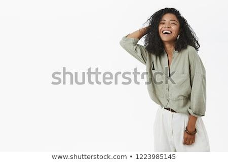 portrait of trendy businesswoman stock photo © nyul