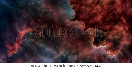 Stock photo: Open space with nebulae and galaxies. Elements of this image furnished by NASA