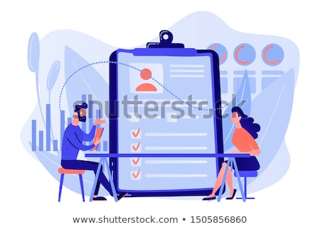 Job application vector concept metaphors. Stock photo © RAStudio