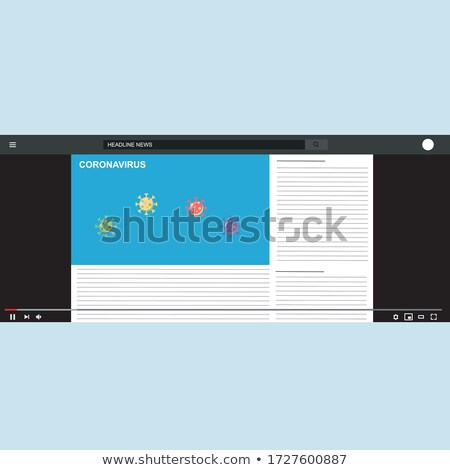 Global Spread of E Commerce Isolated Illustration Stock photo © robuart