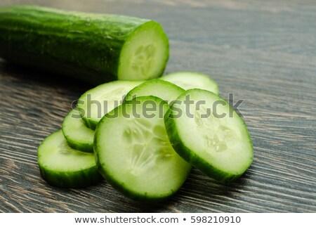 Makro salata bo sağlıklı gıda Stok fotoğraf © lichtmeister