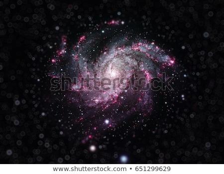 Fogos de artifício galáxia spiralis elementos imagem céu Foto stock © NASA_images